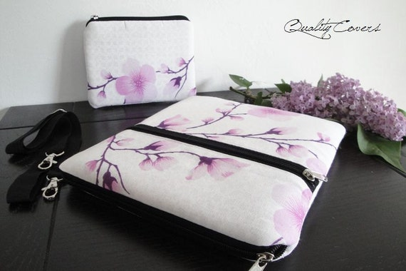 Customizable for Color Fabric and Sizes Laptop and Tablet Bag with wallet -Messenger bag-Detachable STRAP-fully PADDED bag-Waterproof lining