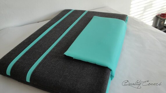 Customizable Laptop for Color fabrics and Size - Laptop sleeve Laptop cover - Padded - Waterproof lining - without an EXTRA POCKET