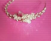Bridal Tiara, Wedding Tiara, Crystal Bridal Headband, Bridal Headband Crystal, Crystal Tiara, Tiara Wedding