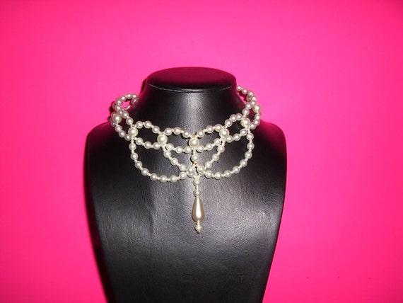 Wedding Necklace, Wedding Pearl Necklace, Bridal Necklace, Bridal Pearl Choker