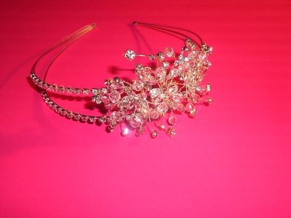 Wedding Tiara, Bridal Tiara, Crystal Bridal Headband, Bridal Headband Crystal, Crystal Tiara, Tiara Wedding