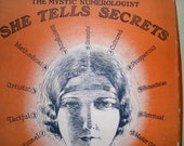 RESERVEDBeautiful 1920s Fortune Telling Device