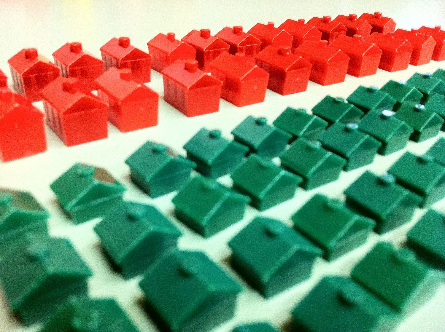 Vintage Monopoly game pieces houses and hotels by GamesEtCetera: https://www.etsy.com/listing/71186256/vintage-monopoly-game-pieces...
