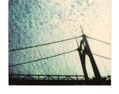 11x14 Enlarged Polaroid -- St. John's Bridge