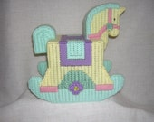 Rocking Horse Tissue Box Cover