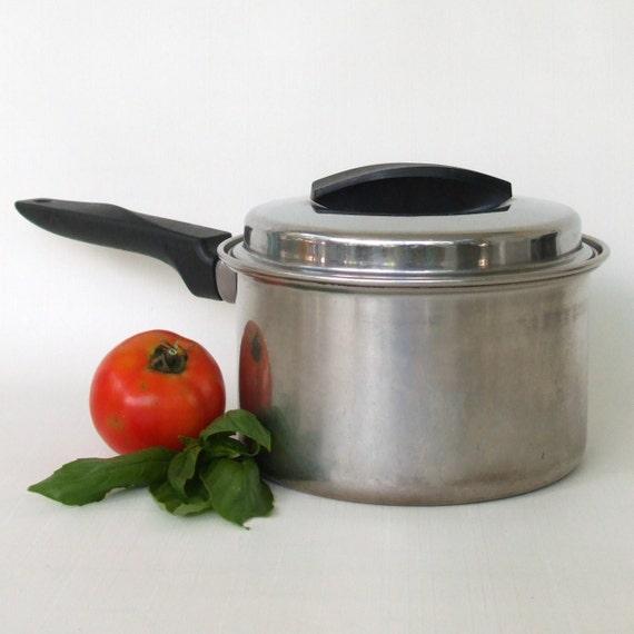 Flint Ware Cookware Stainless Saucepan By Lauraslastditch
