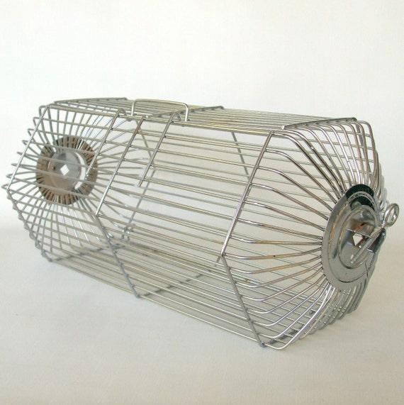 Androck Rotisserie Basket Large Chicken Basket By