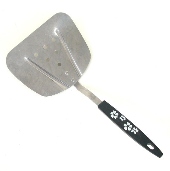 Wide Spatula Stainless Steel Kitchen Utensil Made in USA