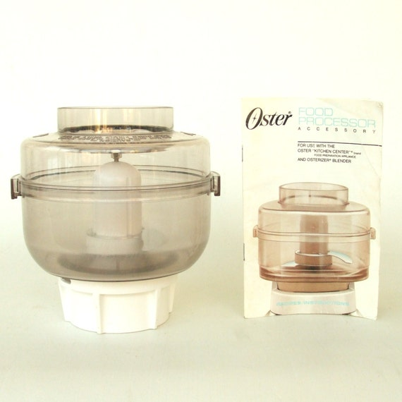 Oster Kitchen Center Food Processor Manual