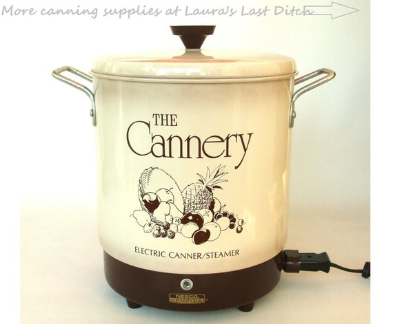 Electric Water Bath Canner Nesco Cannery Canning Supplies
