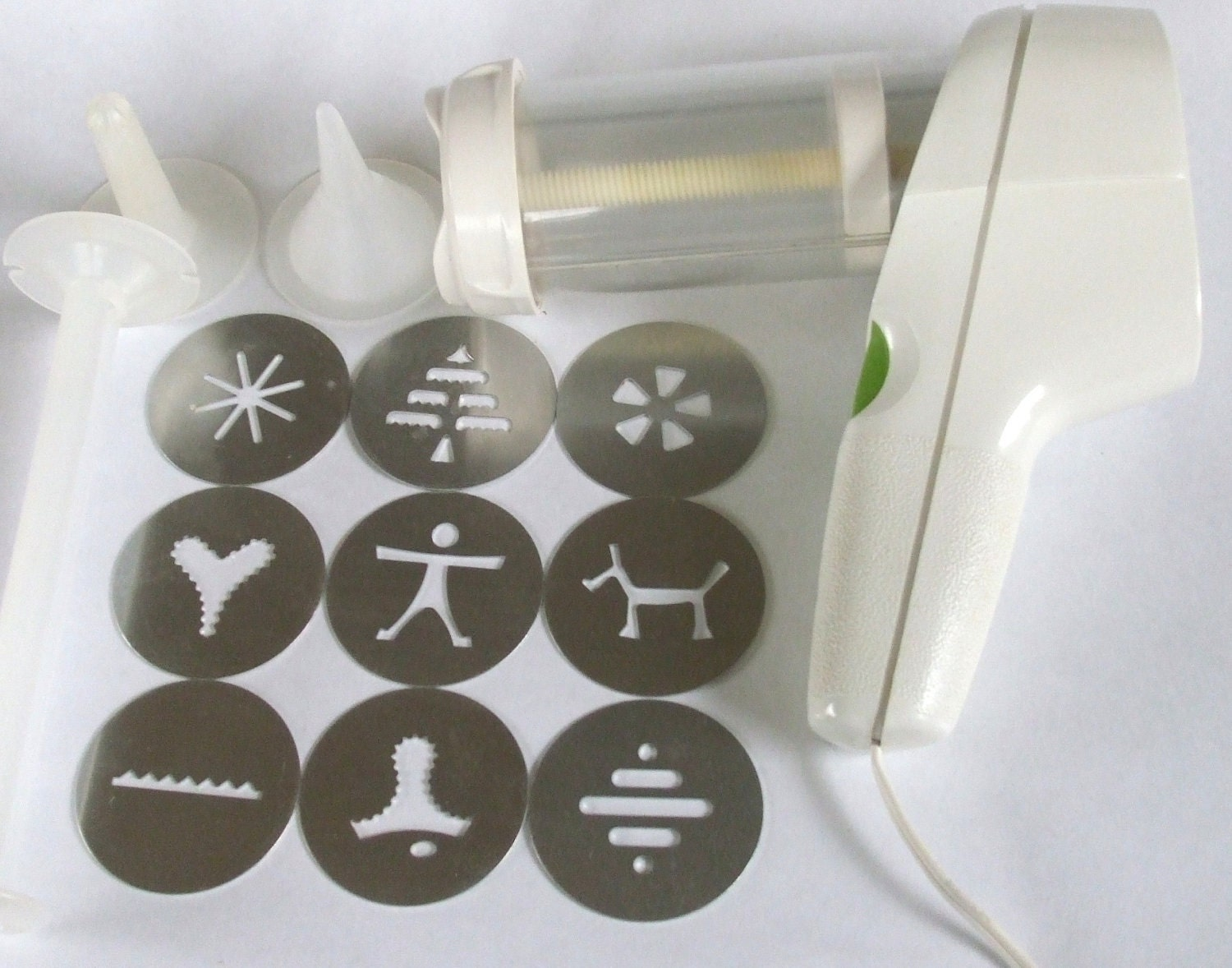 Wear Ever Electric Cookie Press Super Shooter Complete