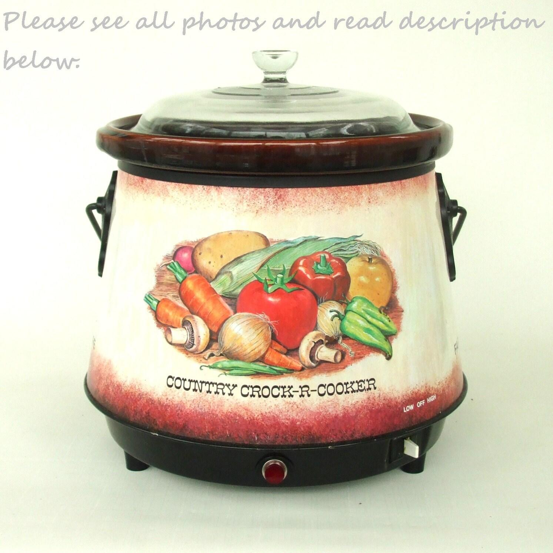 Farberware Crock-R-Cooker Slow Cooker Crock Pot 266