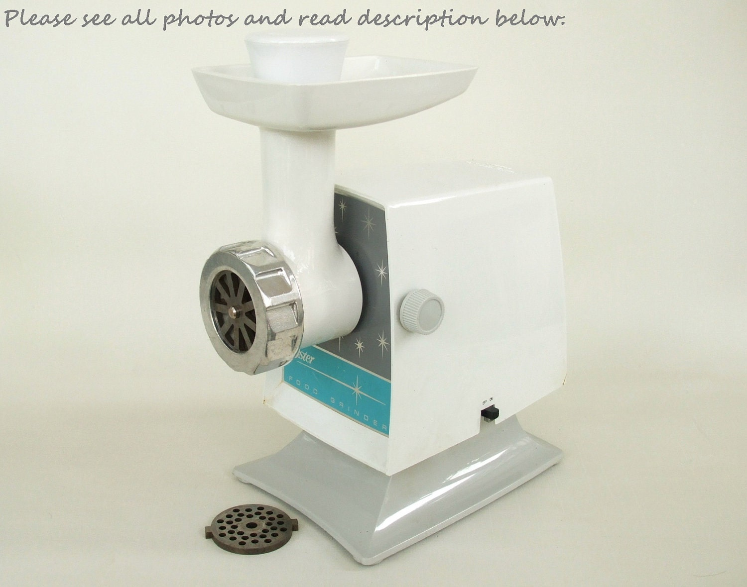 Oster Meat Grinder Electric Small Appliance By Lauraslastditch