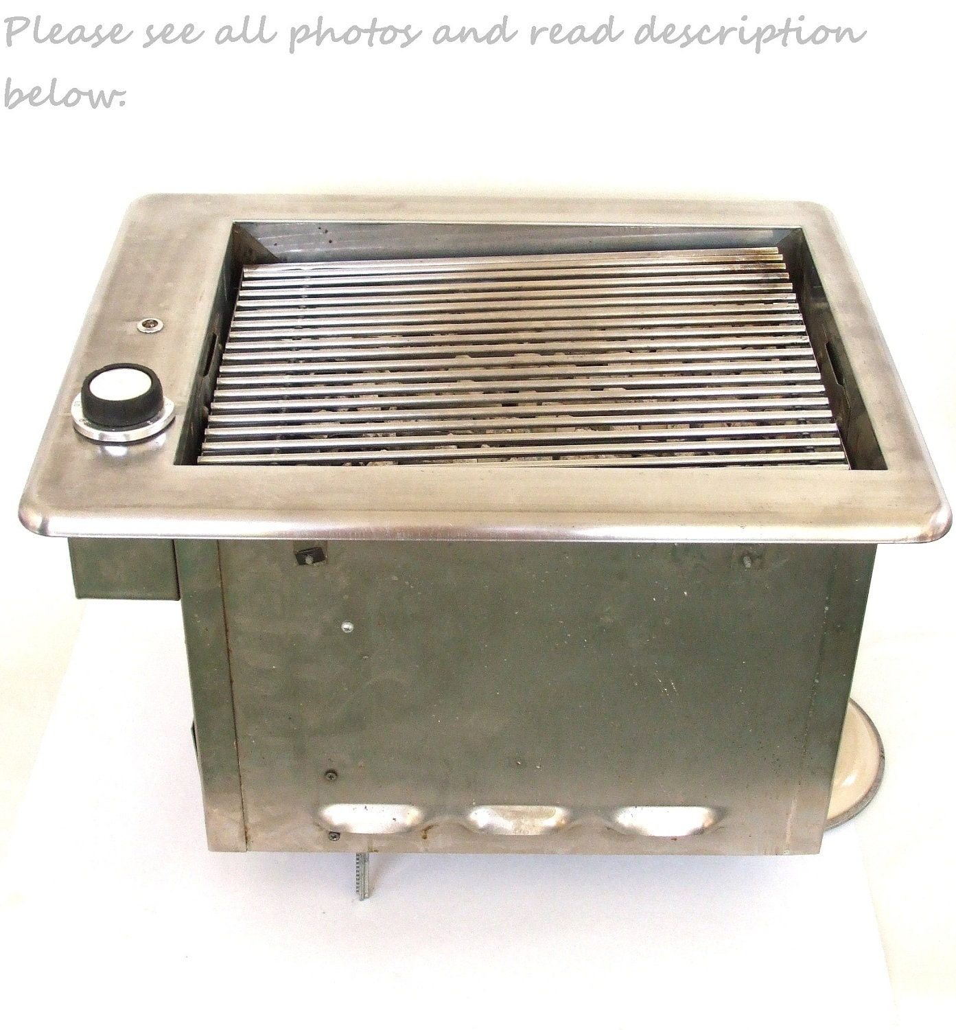 Built In Indoor Electric Grill Stanthony Mid Century Modern