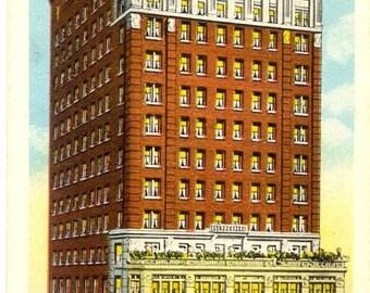 Hotel Windsor - Wheeling, West Virginia - Vintage Postcard