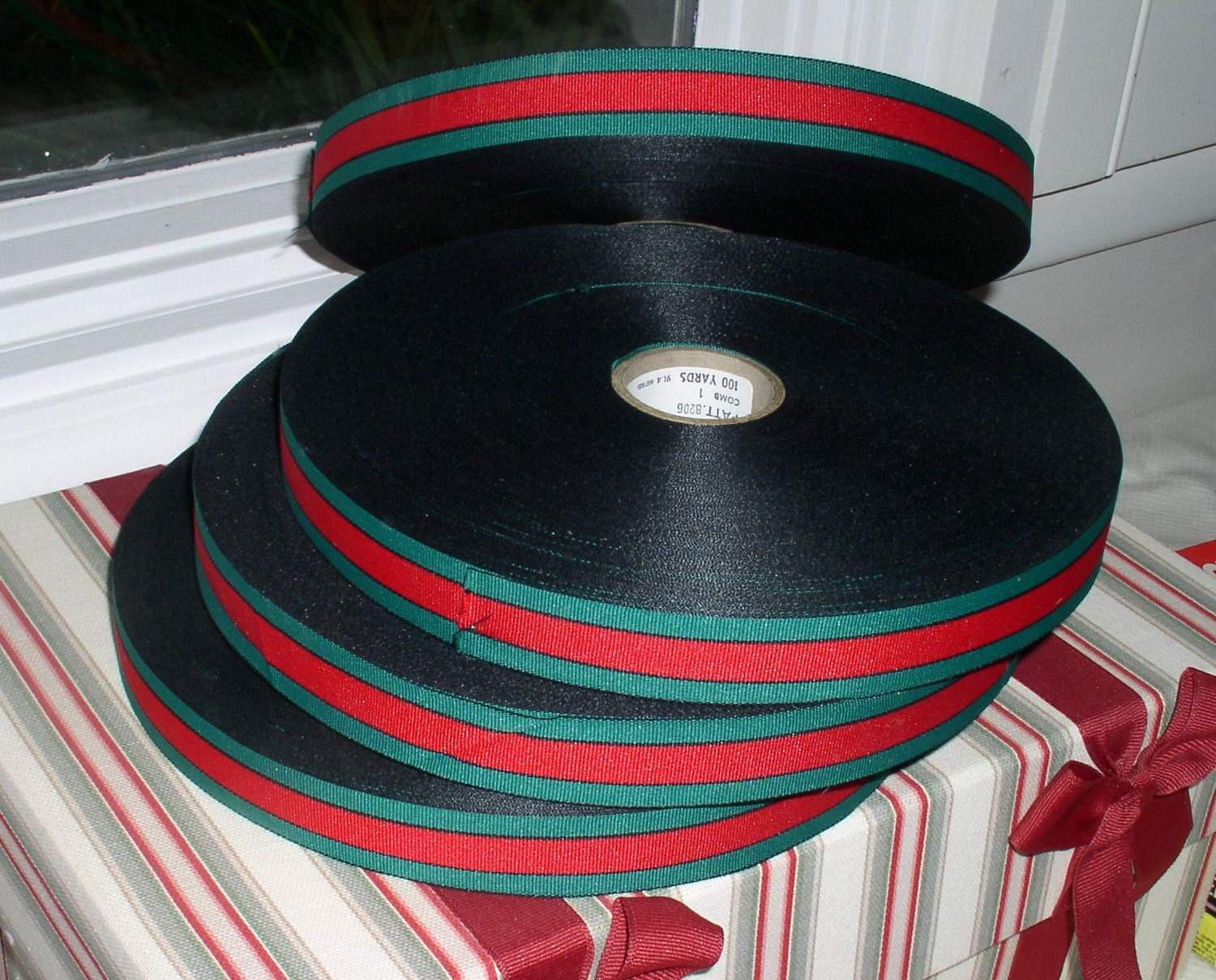 Grosgrain Ribbon Width 1 1 2 By 5 1 3 Yard Gucci Style By