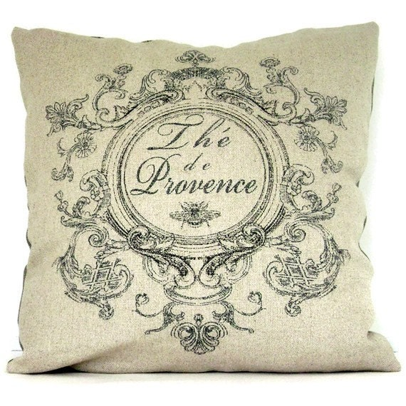 Tea of Provence Pillow Cover 20x20