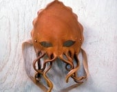 Tan  Octopus Mask - MythicMasks