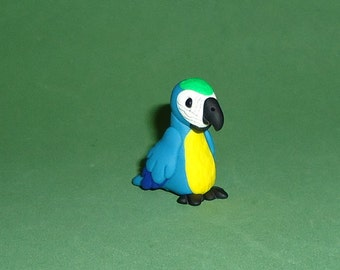 Polymer Clay Macaw Parrot