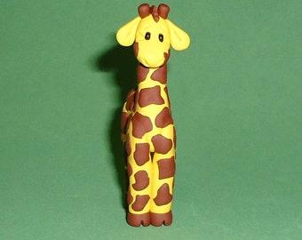 Polymer Clay Giraffe