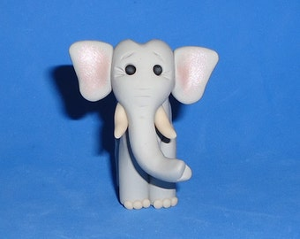 Polymer Clay Standing Elephant