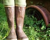 SLUGS Fleece Boot Liners Solid Light Sage Green (Sm/Med and Med/Lg).
