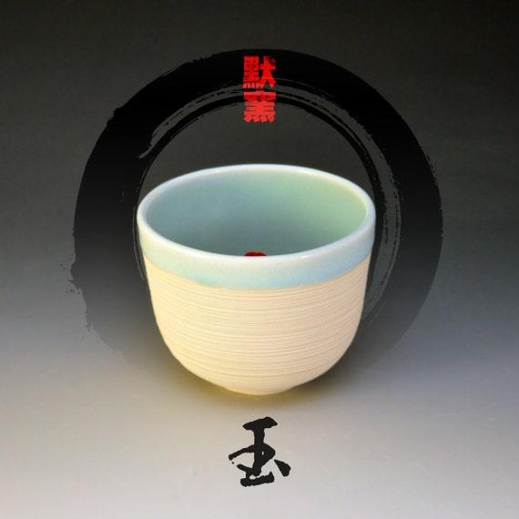 Koi tea bowl jade for Koi viewing bowl