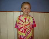 Tie Dyed T-Shirt, Child size 5/6 or SMALL