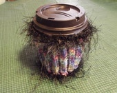 Multi Colored Coffee Cozy
