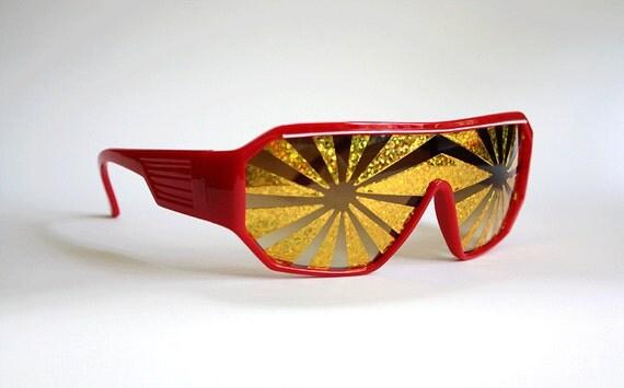 Macho Man Party Sunglasses - Four Alarm
