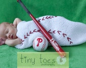 PDF PATTERN Crochet Baseball Cocoon and Cap Baby Boy
