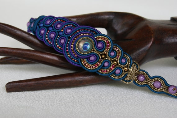 Soutache Bracelet - Fairy Tales of the Orient