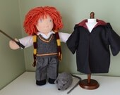 Waldorf Inspired 16in doll (Ron Weasley)