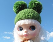 Green Blythe Pom Pom Hat