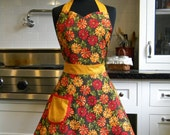 30% OFF Floral Full Sweetheart Apron