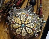 Moroccan vintage potion bottle.