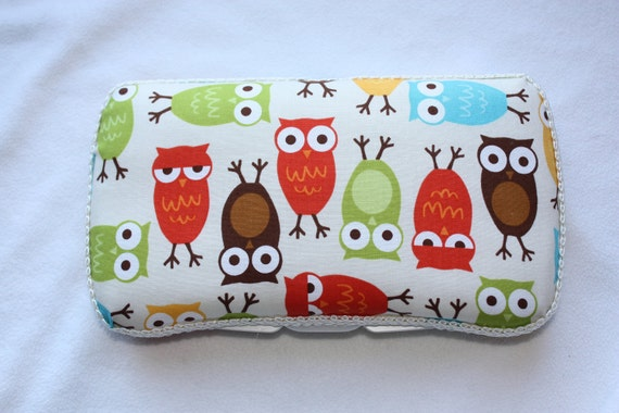 Ann Kelle Urban Zoology Owl Boutique Baby Wipe Case