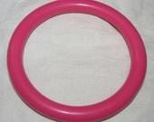 Vintage Hot Pink Bangle Bracelet