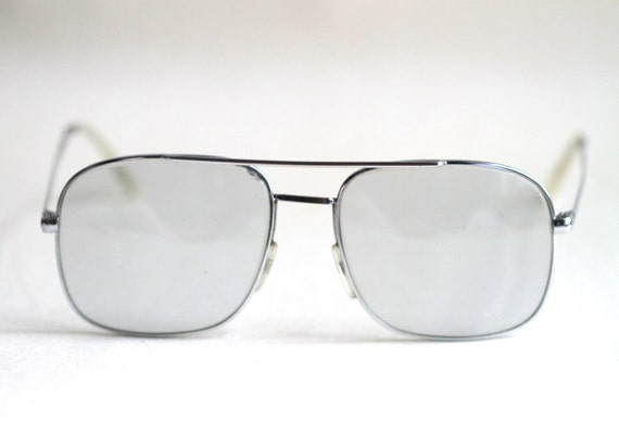 Vintage Taxi Driver Eye Glasses - Aviator Style Spectacles - With Pouch