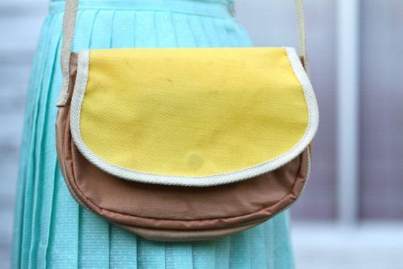Eighties Yellow Handbag