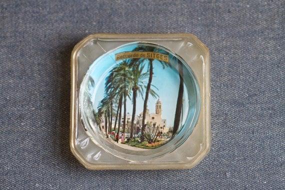 Recuerdo de SITGES Ashtray - Souvenir From Spain