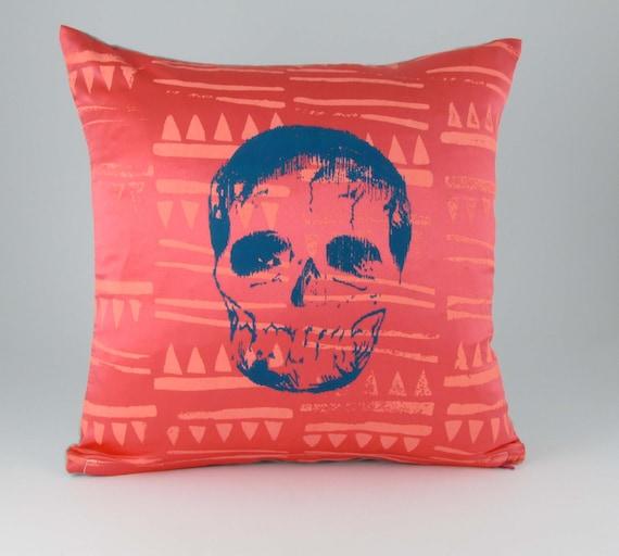 Mex Tex Skull cushion. by Tutulitsa on Etsy
