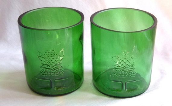 Pair of Tanqueray Gin Glasses