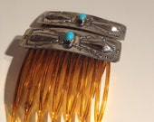 Sterling hair clips