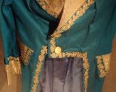 Ornate rococo style coat