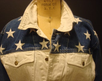 Stars denim jacket