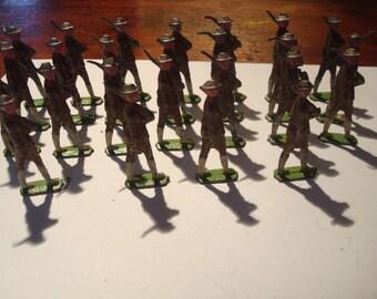 Vintage toy soldiers