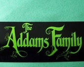 The Addams Family Sticker 1991