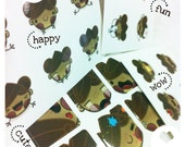 Chestnut Girl Stickers Pack
