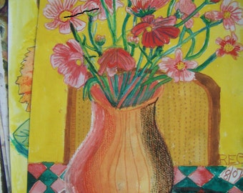 Still Life Study Of Flowers 2